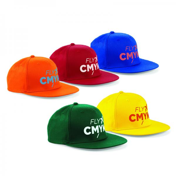 Snapback caps (5 st) drukken