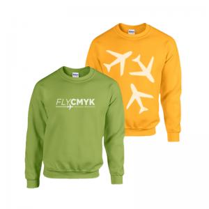 sweater met logo