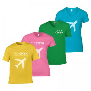 T-shirts met logo