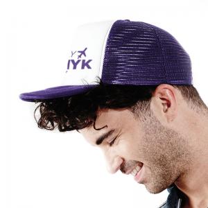 Meshcap met logo