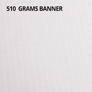 510 grams Banner
