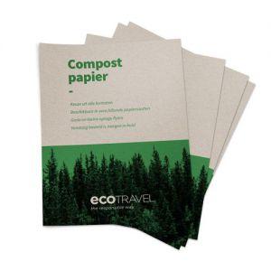 Compostpapier flyers