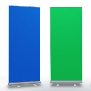 Green screen banner