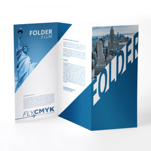 Folder drieluik