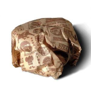 Hamburger papier bedrukken