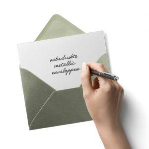 Metallic-Envelop-Schrijf