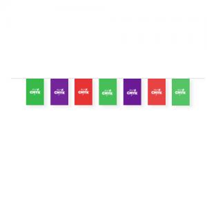 Vlaggenlijn bedrukken