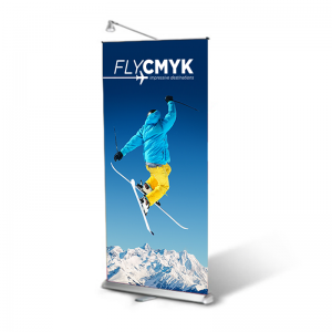Roll-up banner aanbieding