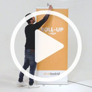 Roll up banner play