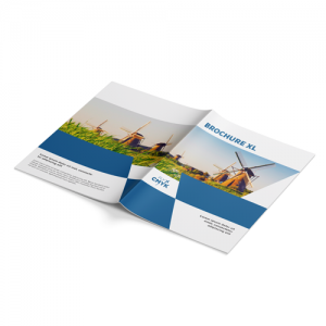 Brochure XL formaat